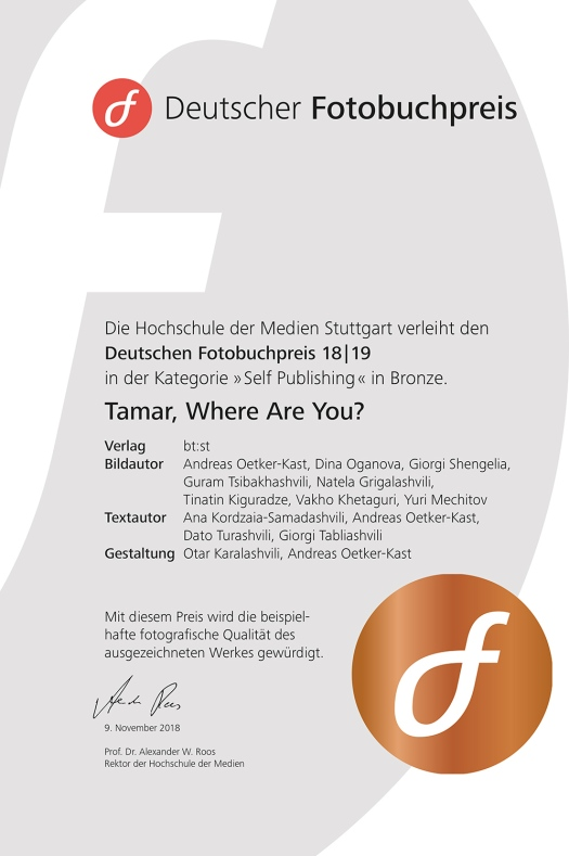 Certificat-German-Photobook-Award-18-19_Longlist_Tamar-Where-Are-You_Andreas-Oetker-Kast